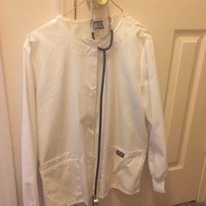 Lab Coat and Stethoscope